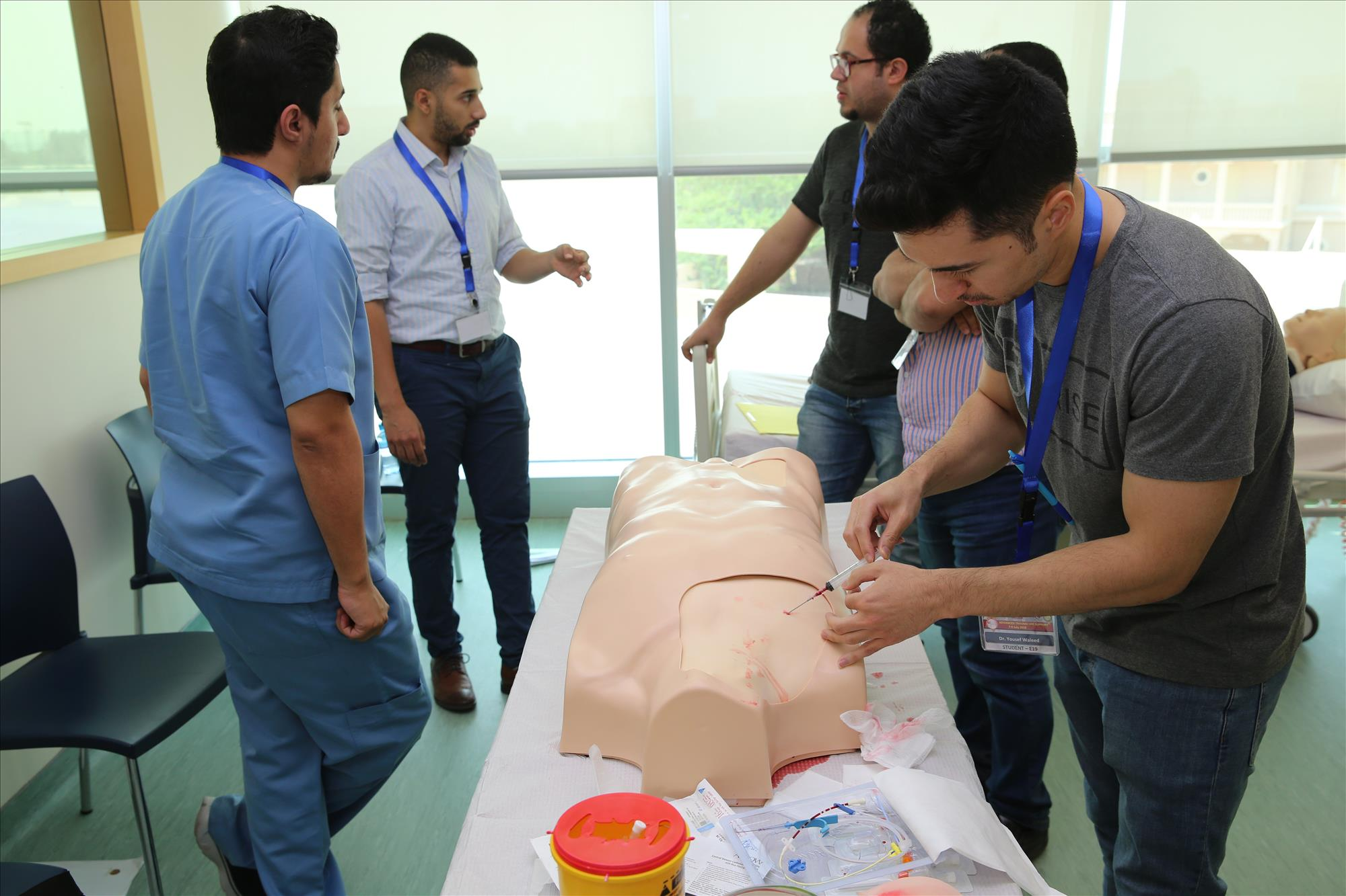 ADVANCED TRAUMA LIFE SUPPORT (ATLS) PROVIDER COURSE  10th EDITION  April 4 - 5 - 6